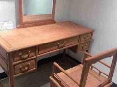 厂家直销 实木古典家具 南美花梨梳妆台  两件套 欲购从速