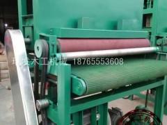 瑞发木工机械重型宽带砂光机定尺平面砂光机抛光机械设备木工机械