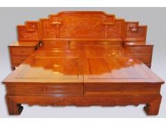 精品 红木大床  款式新颖 价格优惠