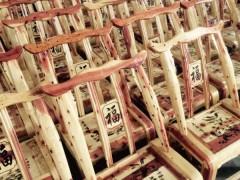 厂家直销 实木桌椅 柏木椅子 货源稳定 量大从优
