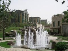喷泉  假山流水喷泉  园林喷泉设计  塑石假山喷泉