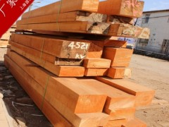 供应品牌柳桉木圆柱/柳桉木方料/防腐木板材
