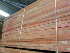 大量批发红胡桃实木烘干材