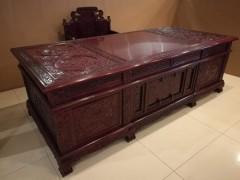 非洲酸枝红木古典家具,非洲酸枝大班台,厂家直销