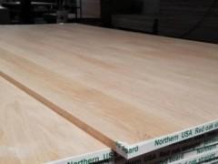 厂家直销高档实木拼板,北美红橡,白腊实木拼板,质优价廉