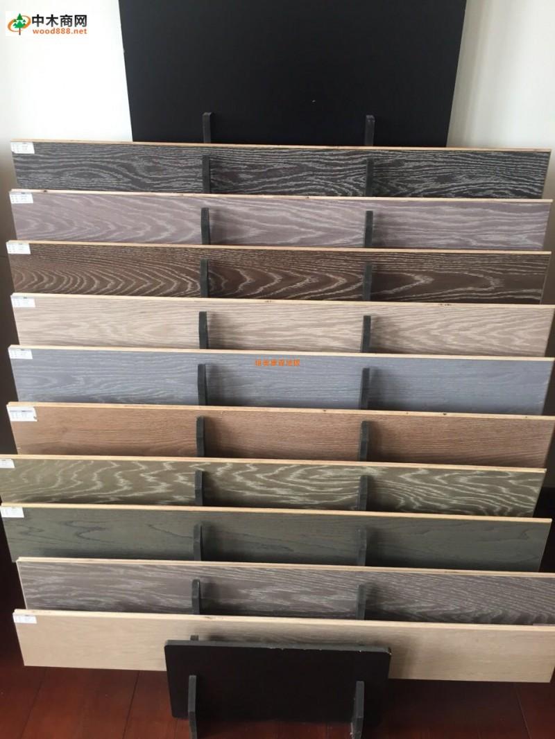 恒美康森地板专业生产实木多层地板黑胡桃多层地板柞木多层地板