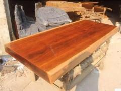 非洲花梨木大板桌面实木板材板台茶桌茶几原木整块餐桌书桌现货