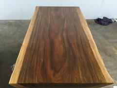非洲花梨木大板实木板材红木板原木整块大木板茶台茶桌板台现货