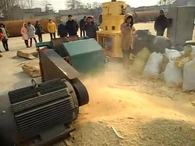 宇龙机械木材粉碎机 试机视频 (45播放)