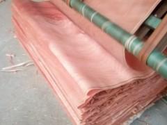 桃花芯奥古曼异形皮地板木皮联系方式山东临沂金海汇木业联系方式