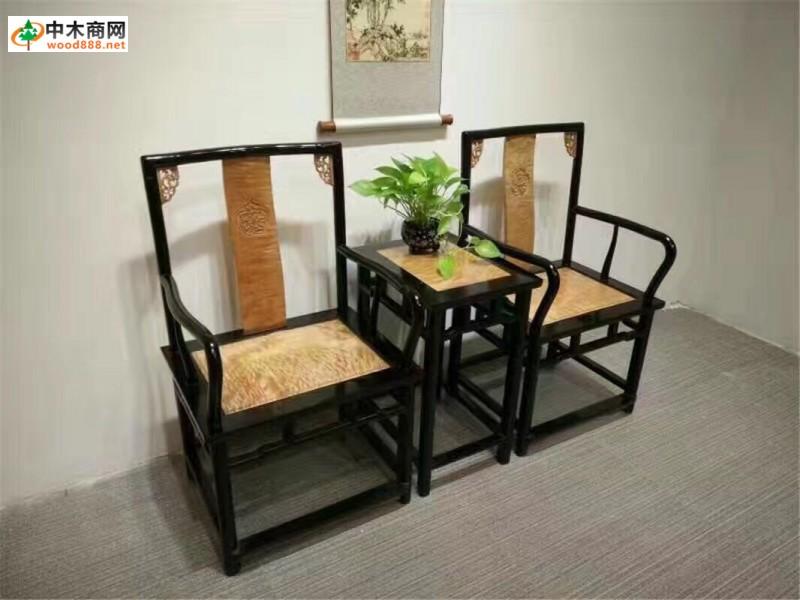 古风手绘桌椅素材