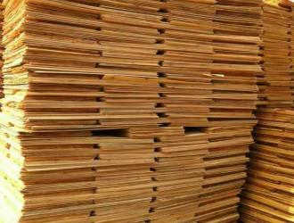 湖北优质松木木皮最新报价