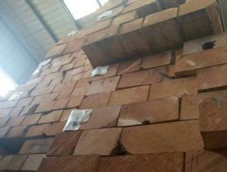 震恒木业专业批发优质实木板材黄雪松方木