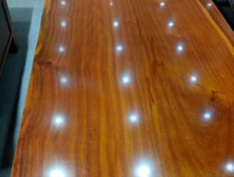 订做加工各种规格巴花实木大板
