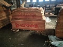 桃花芯地板木皮批发