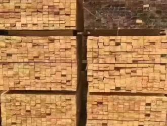 进口花旗松建筑木方厂家