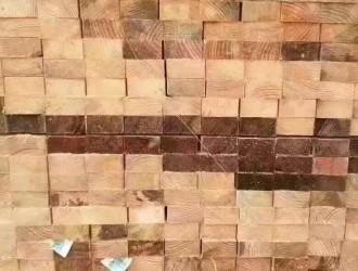 进口铁杉建筑木方出售
