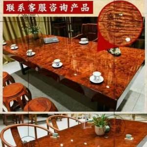 巴西花梨大板桌供应