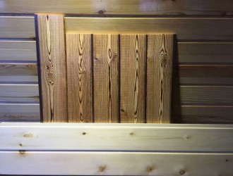桑拿板扣板碳化木防腐木樟子松板材