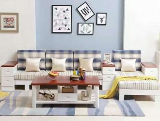 厂家直销精品布艺沙发组合套件