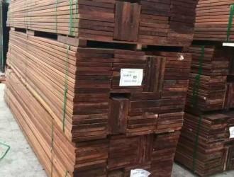 河南印尼菠萝格户外地板最新价格