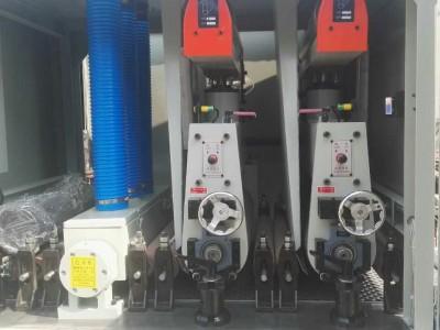 630双砂上浮和下砂超短料砂光机