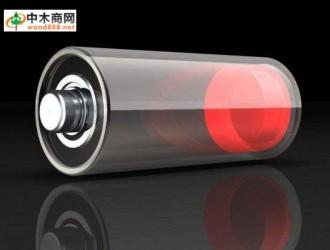 锂电池负极结构用木头制作更加安全