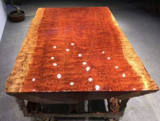 巴花实木大板