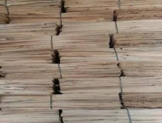杨木板皮加工