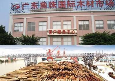 中国最大木材批发市场