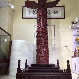 赞比亚紫檀中华柱