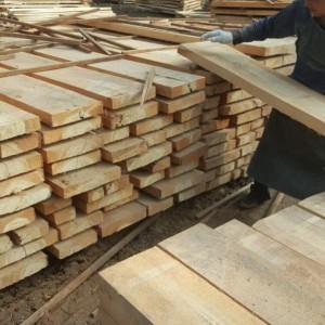 2.6米白杨木烘干板,自然宽度