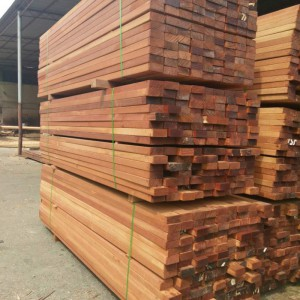 2017年菠萝格原木 板材 加工费最新报价