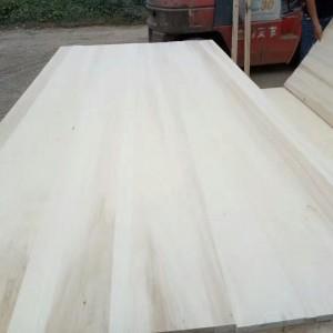 长期出售杨木直拼板