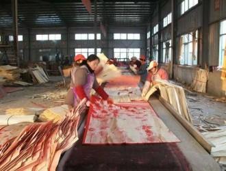 沭阳县桑墟镇做大木材产业的奥秘