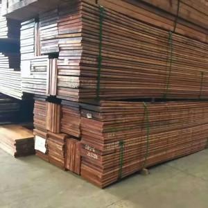 江西南昌古建祠庙菠萝格木圆柱|大木方|木板材|专业定做厂家