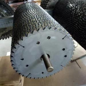 耐磨损圆木多片锯锯片