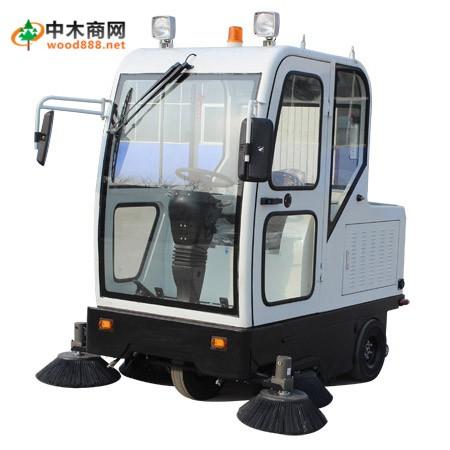 JM-2000 电动驾驶型扫地车