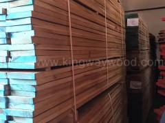 木业稳定月供5柜进口白橡板材地板坯料