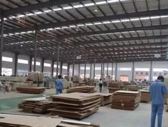 安徽叶集镇:中国建筑模板之乡