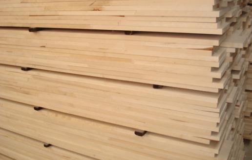樟子松自由宽板材