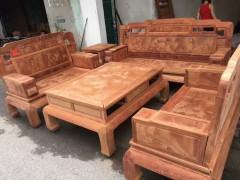 缅甸花梨国色天香沙发