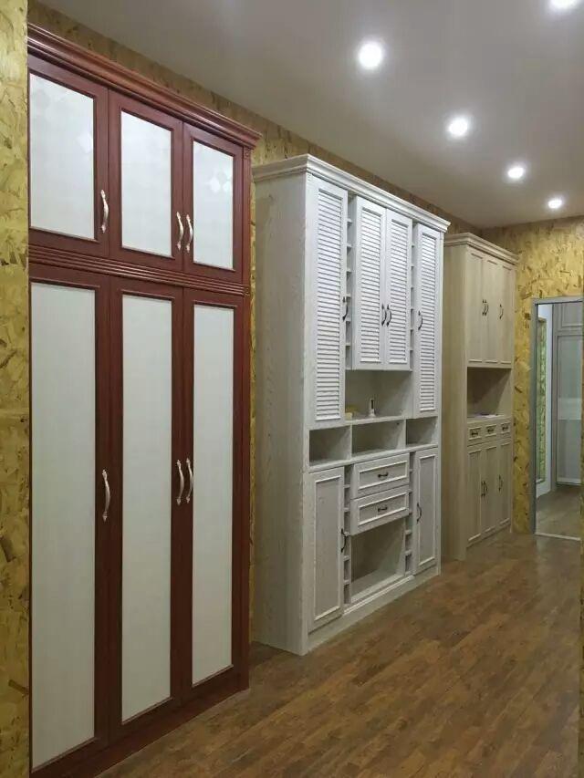 香港笑山虎-定制开门型材装饰衣柜