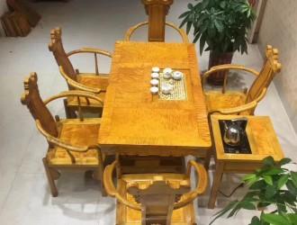 广西金丝楠木家具产品图片