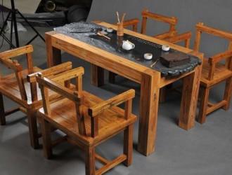 阳台改造之榆木茶桌篇