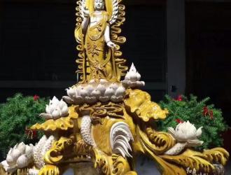 楠木观世音菩萨像欣赏