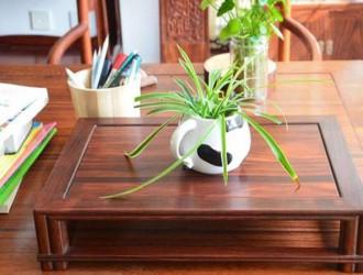 红木小桌子的制作过程,真是开眼了!