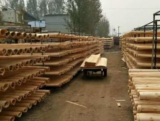 陪伴我十年的东北农村杨木板皮加工厂