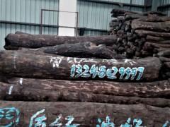 张家港一手货源供应赞比亚血檀原木