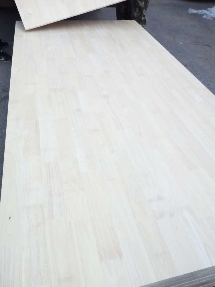 橡胶木拼板